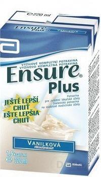ENSURE PLUS vanilková príchuť (nové zloženie) 1x220 ml