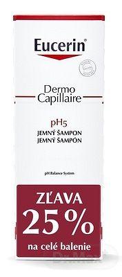 Eucerin DermoCapillaire pH5 Jemný Šampón 2x250 ml (1+1 PROMO 2020, ) 1x1 set