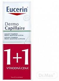 Eucerin DermoCapillaire šampón proti mastným lupinám 2x250 ml darčeková sada
