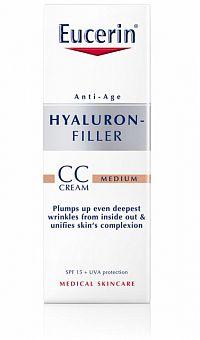 Eucerin HYALURON-FILLER CC krém stredne tmavý medium 1x50 ml