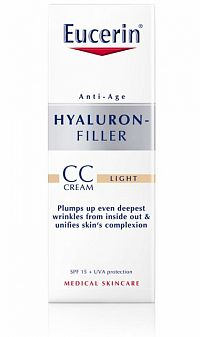Eucerin HYALURON-FILLER CC krém svetlý light 1x50 ml