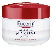 Eucerin pH5 hydratačný krém na tvár a telo pre citlivú pokožku 1x75 ml