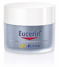 Eucerin Q10 ACTIVE nočný krém proti vráskam regeneračný na citlivú pokožku, 50 ml