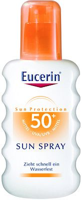 Eucerin Sprej na opaľovanie SPF 50+ 1x200 ml
