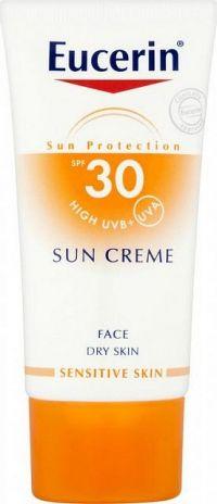 Eucerin SUN SENSITIVE PROTECT SPF 30 krém na tvár vysoko ochranný na opaľovanie 1x50 ml