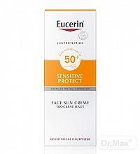 Eucerin SUN SENSITIVE PROTECT SPF 50+ krém na tvár vysoko ochranný na opaľovanie 1x50 ml