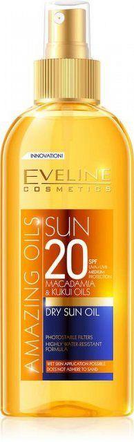 EVELINE AMAZING OILS Dry SUN Oil SPF20 150 ml