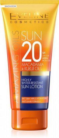 EVELINE AMAZING OILS SUN Lotion SPF20 200 ml