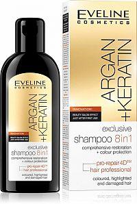 EVELINE Argan + Keratin šampón 8v1 150 ml