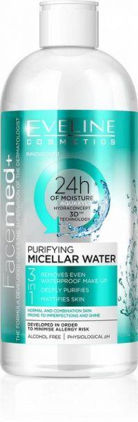 EVELINE FACEMED+ Čistiaca micelárna voda 400 ml