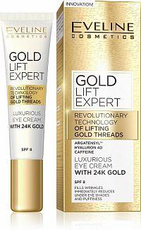 EVELINE GOLD LIFT EXPERT krém na očné viečka 15 ml