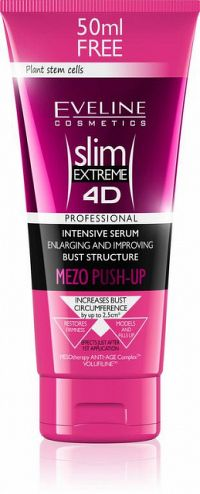 EVELINE SLIM 4D MEZO Push up na poprsie 200 ml