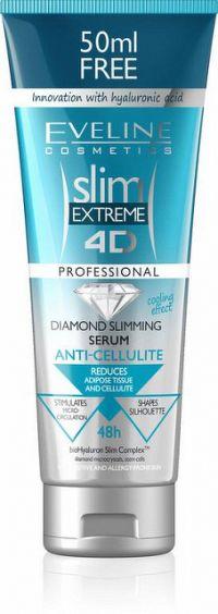 EVELINE SLIM 4D Zoštíhľujúce sérum proti celulitíde 250 ml