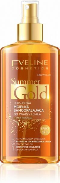 EVELINE SUMMER GOLD SELF-TRANNING TMAVÁ PLEŤ 1x150 ml