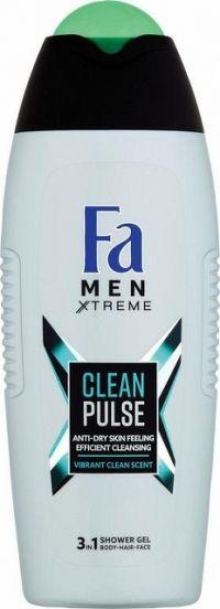 Fa sprchový gél Men Xtreme Clean pulse 400 ml