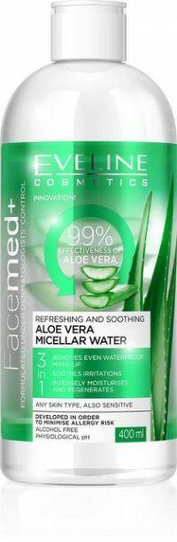 Facemed micelárna voda s Aloe vera 1x400 ml