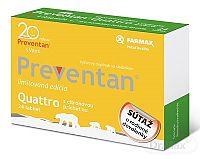FARMAX Preventan Quattro s citrónovou príchuťou tbl limitovaná edícia - súťaž 1x24 ks