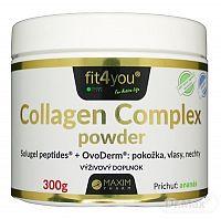 Fit4You Collagen Complex powder prášok s ananásovou príchuťou 1x300 g