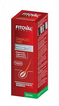 FITOVAL DAMAGE HAIR šampón na poškodené vlasy 1x200 ml