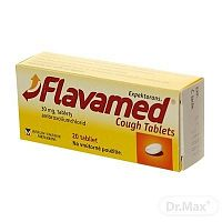 Flavamed Cough Tablets tbl 30 mg 1x20 ks