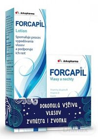 FORCAPIL 180 kapsúl + FORCAPIL lotion 150 ml