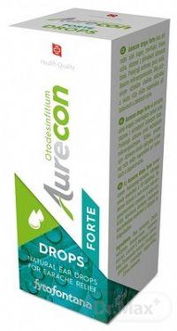 Fytofontana Aurecon DROPS FORTE ušné kvapky s obsahom rastlinných extraktov 1x10 ml