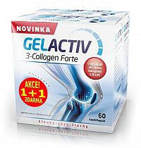 GELACTIV 3-Collagen Forte 60+60 kapsúl