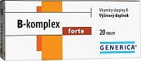 GENERICA B-komplex forte tbl 1x20 ks
