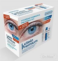 GENERICA Lutein Premium cps 2x60 ks (120 ks) + (utierka na okuliare), 1x1 set