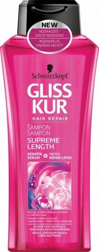 GLISS KUR šampón Supreme Length 400 ml