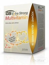 GS Extra Strong Multivitamín 2020 tbl 60+60 navyše (120 ks)