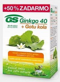 GS Ginkgo 40 + Gotu kola tbl 80+40 (120 ks)