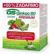 GS Ginkgo 60 PREMIUM tbl 40+20 (60 ks)