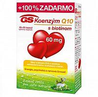 GS Koenzým Q10 60 mg 30+30 kapsúl