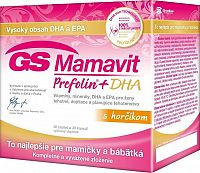 GS Mamavit Prefolin+DHA 30 tabliet + 30 kapsúl
