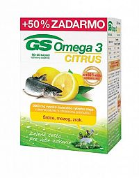 GS Omega 3 CITRUS 2015 cps 60+30 (50% ) (90 ks)
