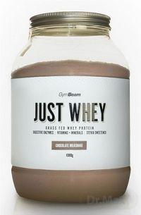 GymBeam Proteín Just Whey sušený srvátkový proteínový prášok, príchuť čokoládový milkshake, 1x1000 g