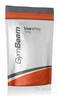 GymBeam Proteín True Whey práškový srvátkový proteínový koncentrát, príchuť čokoláda a kokos, 1x1000 g