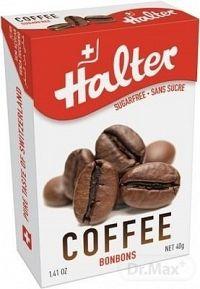Halter BONBONS Káva (Coffee) cukríky bez cukru, 1x40 g
