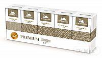 HARMONY PREMIUM papierové vreckovky 4-vrstvové, extra soft, 10x9 ks (90 ks)