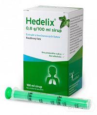 Hedelix sir (fľ.skl.jantár.+dávkov.striek.) 1x100 ml