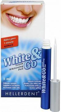 HELLERDENT WHITE&GO Bieliace pero gel pre domáce bielenie zubov 1x5 ml