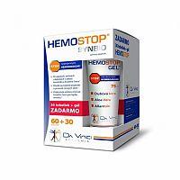HEMOSTOP SYNBIO - DA VINCI cps 60+30 (90 ks) + gél 75 ml , 1x1 set