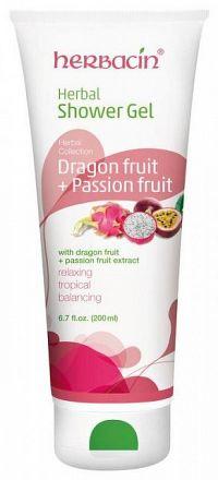 HERBACIN Sprchový gél bylinný Dragonfruit sprchový gél, 1x200 ml