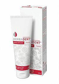 HERBADENT Professional Bylinná zubná pasta s fluorom 1x100 g