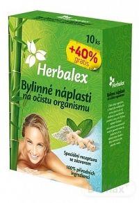 Herbalex bylinné náplasti na očistu organizmu 14 ks