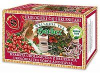 HERBEX UROLOGICKÝ ČAJ S BRUSNICAMI bylinný čaj 20x3 g (60 g)