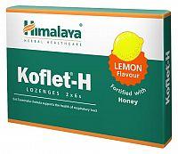 Himalaya Koflet-H Lemon bylinné pastilky s medom, ora 1x12 ks