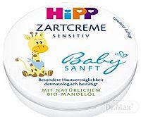HiPP BabySANFT Jemný krém sensitive, s Bio mandľovým olejom 1x75 ml