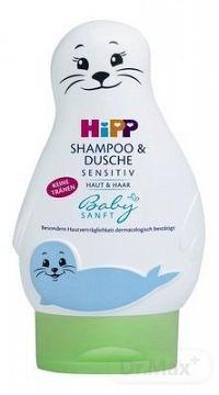 HiPP BabySANFT Šampón na Telo a Vlasy sensitiv 1x200 ml